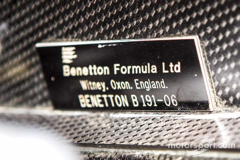 Benetton-Ford B191/191B telaio nr. B191B-06