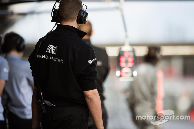 Manor Racing mecánicos