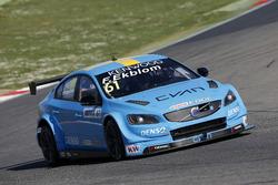 Fredrik Ekblom, Polestar Cyan Racing Volvo S60 Polestar TC1