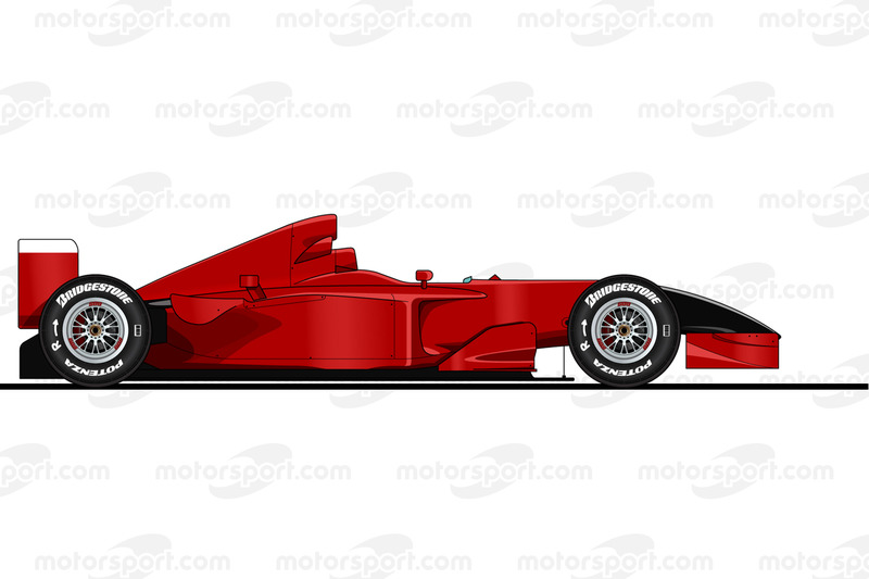 Michael Schumacher, Ferrari F2001, Monza, Italia, 2001