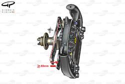 Ferrari SF16-H steering wheel clutch movement