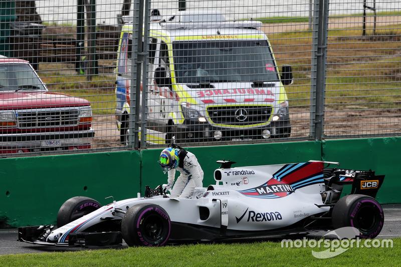 Defekt: Felipe Massa, Williams FW40