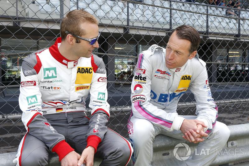 #2 Montaplast by Land-Motorsport, Audi R8 LMS: Christopher Haase und #25 BWT Mücke Motorsport, Audi