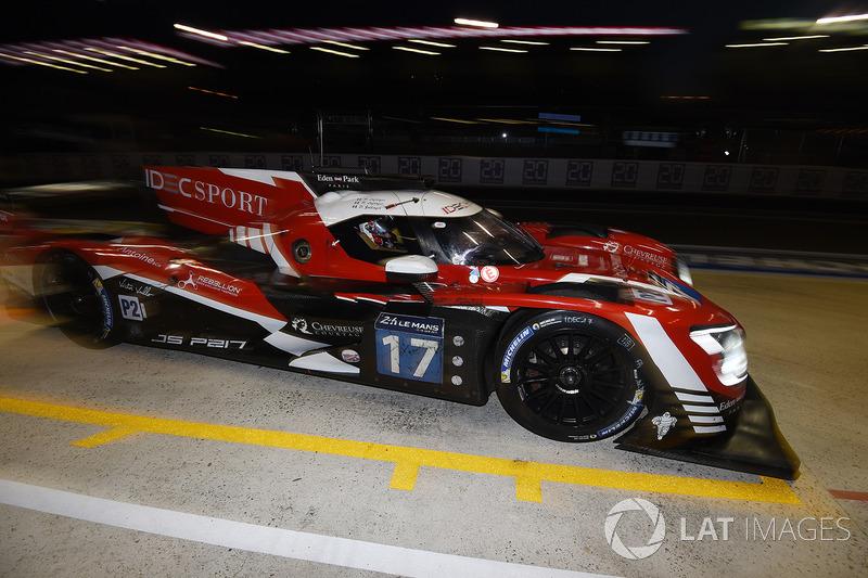 10. LMP2: #17 IDEC Sport Racing, Ligier JS P217 Gibson
