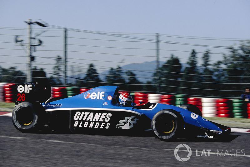 "14. <img src=""https://cdn-5.motorsport.com/static/img/cfp/0/0/0/0/75/s3/france-2.jpg"" alt="""" width=""20"" height=""12"" />Erik Comas - 59 Grands Prix (1991-1994)"
