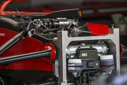 Ferrari SF70H front suspension detail