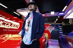 Актор Оуен Вілсон у промо-гаражі стрічки