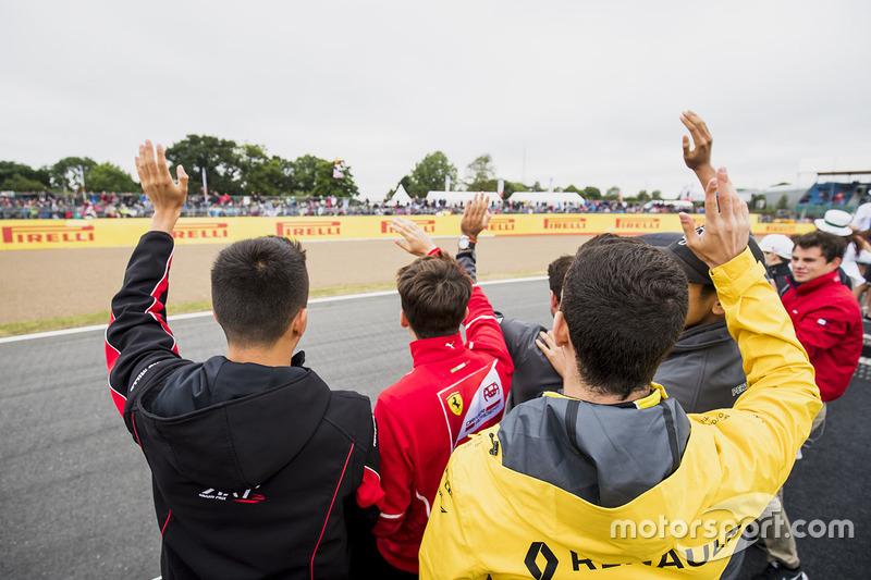 Alexander Albon, ART Grand Prix, Charles Leclerc, PREMA Powerteam and Nicholas Latifi, DAMS