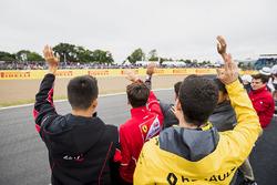 Alexander Albon, ART Grand Prix, Charles Leclerc, PREMA Powerteam y Nicholas Latifi, DAMS
