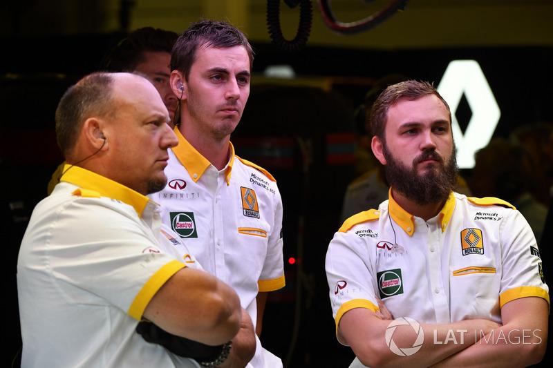 Renault Sport F1 Team mecánicos