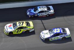 Paul Menard, Richard Childress Racing Chevrolet, Ty Dillon, Germain Racing Chevrolet, Matt DiBenedet