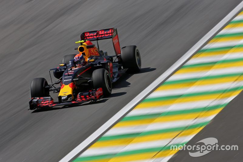 Max Verstappen (NLD) Red Bull Racing 11.11.2016. Formula 1 World Championship, Rd 20, Brazilian Gra