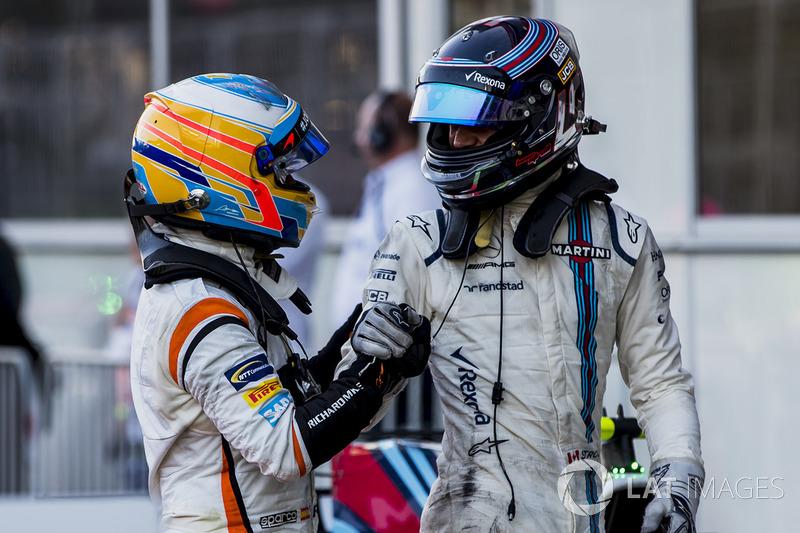 Fernando Alonso, McLaren, Lance Stroll, Williams