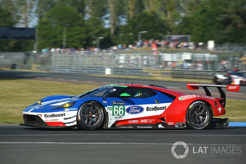 #66 Ford Chip Ganassi Racing Ford GT : Olivier Pla, Stefan Mücke, Billy Johnson