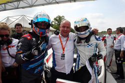 Race winner Stefano Comini, Comtoyou Racing, Audi RS3 LMS and Frédéric Vervisch, Comtoyou Racing, Audi RS3 LMS