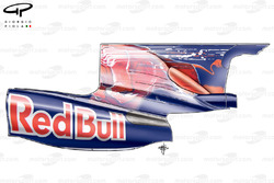 STR4 (Red Bull RB5) 2009 Monza engine cover