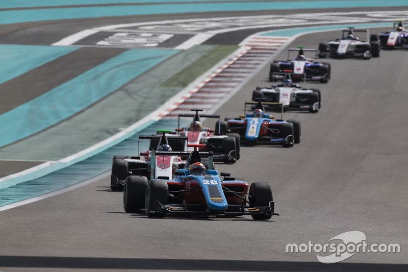 Arjun Maini, Jenzer Motorsport y Nyck De Vries, ART Grand Prix