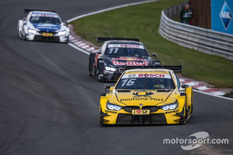 Timo Glock, BMW Team RMG, BMW M4 DTM, Marco Wittmann, BMW Team RMG, BMW M4 DTM, Tom Blomqvist, BMW Team RBM, BMW M4 DTM