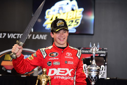 Race winner Harrison Burton