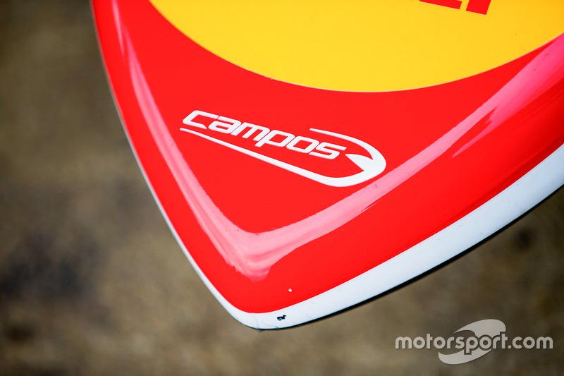 Campos Racing nosecone