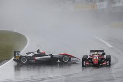 Nikita Mazepin, Hitech Grand Prix, Dallara F317 - Mercedes-Benz, Callum Ilott, Prema Powerteam, Dallara F317 - Mercedes-Benz