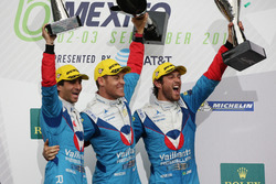 Podium: Winner P2 #31 Vaillante Rebellion Racing Oreca 07 Gibson: Julien Canal, Bruno Senna, Nicolas Prost