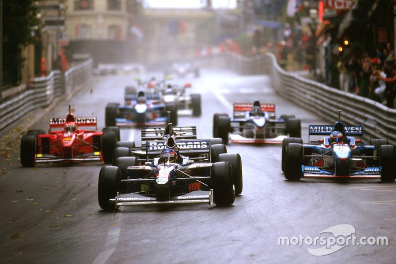 Jacques Villeneuve e Heinz Harald Frentzen – GP de Mônaco de 1997