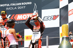 Podium: third place Marco Melandri, Ducati Team
