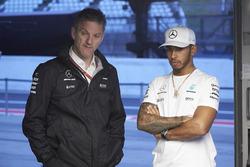 James Allison, directeur technique, Mercedes AMG F1, Lewis Hamilton, Mercedes AMG F1