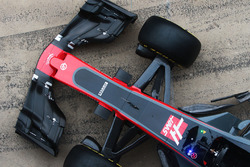 Haas VF-17: Frontpartie