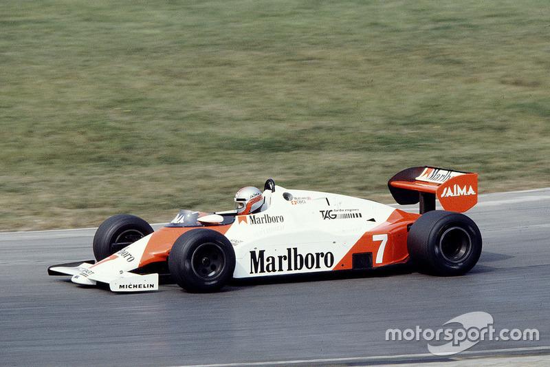 マクラーレンMP4/1E・TAG(ジョン・ワトソン/1983年ヨーロッパGP)