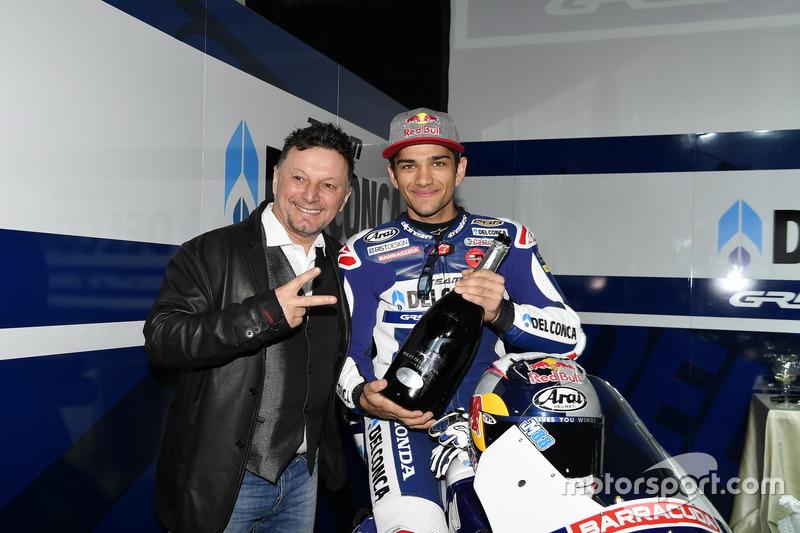 Jorge Martín, Gresini Racing Team con Fausto Gresini, Team Manager