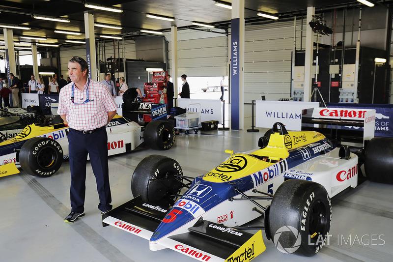 Nigel Mansell, Williams FW11 Honda