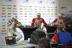 Lando Norris, Carlin Dallara F317 - Volkswagen; Maximilian Günther, Prema Powerteam Dallara F317 - M