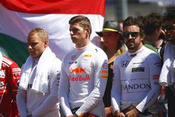 Valtteri Bottas, Mercedes AMG F1, Max Verstappen, Red Bull, Fernando Alonso, McLaren