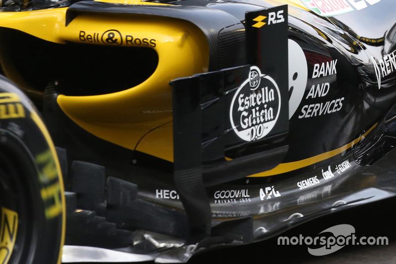 Renault R.S. 18 of Nico Hulkenberg technical detail