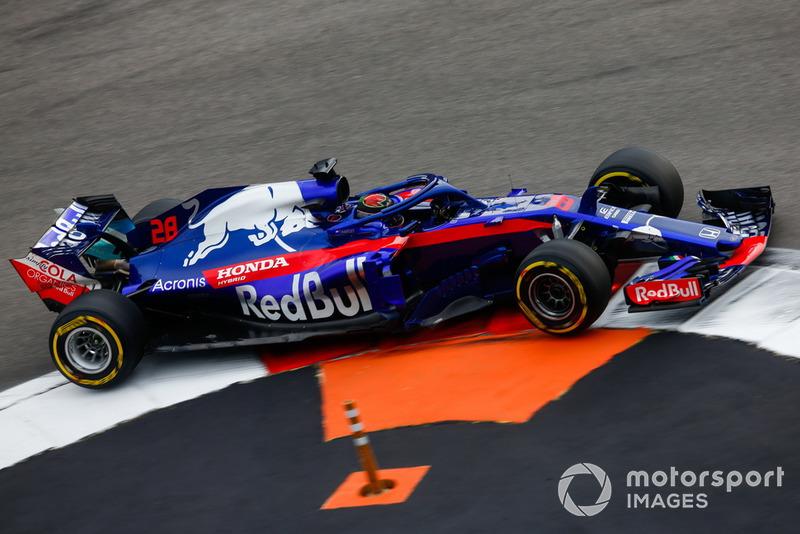 Brendon Hartley: Scuderia Toro Rosso - 5 puan