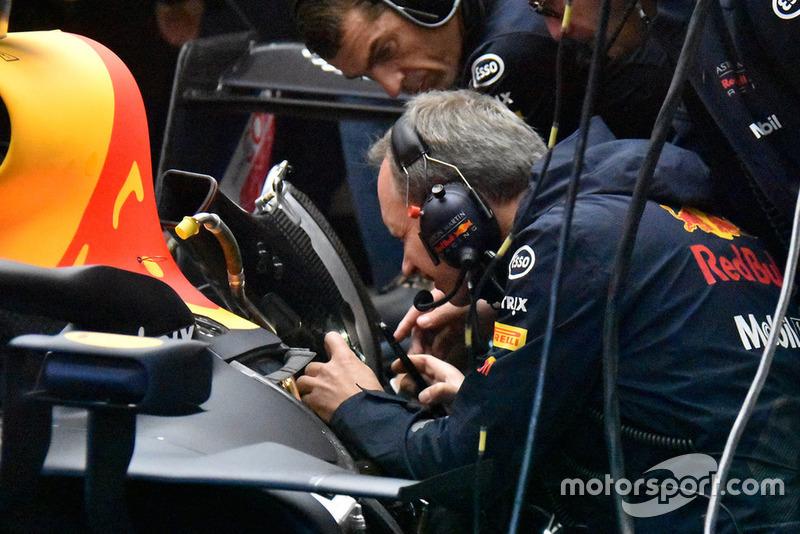 Red Bull Racing takım çalışanları