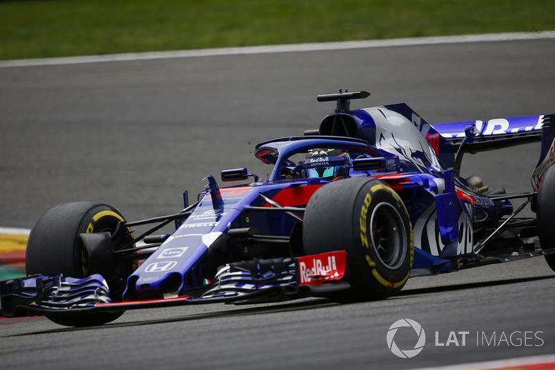 17 місце — Брендон Хартлі (Нова Зеландія, Toro Rosso) — коефіцієнт 3001,00