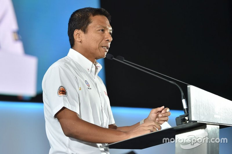 Datuk Razlan Razali, CEO Sepang International Circuit