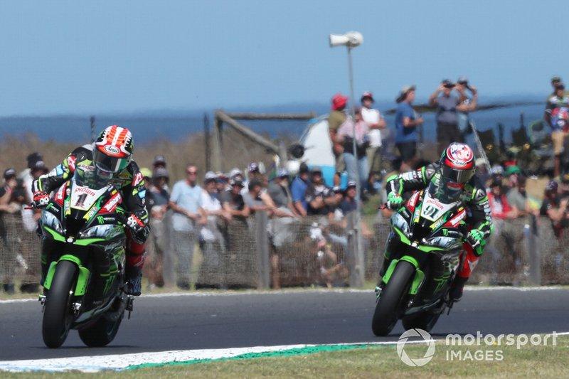 Jonathan Rea, Kawasaki Racing, Gara 1