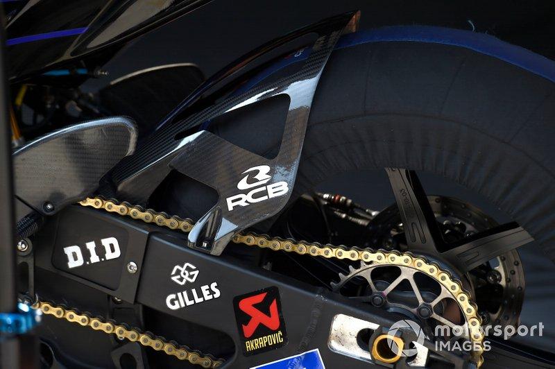 Moto de Yamaha Factory Racing