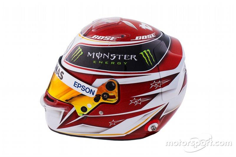 Casco de Lewis Hamilton Mercedes-AMG Petronas