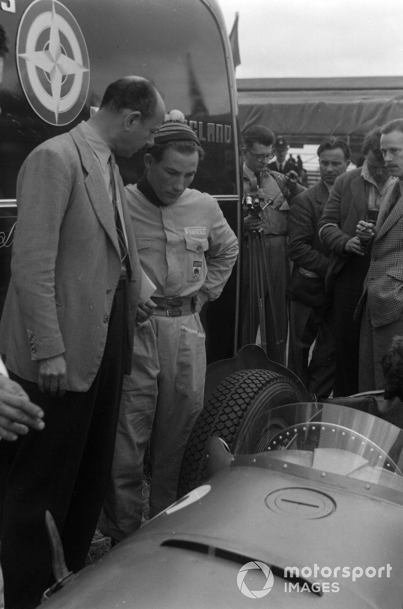 Raymond Mays and Stirling Moss