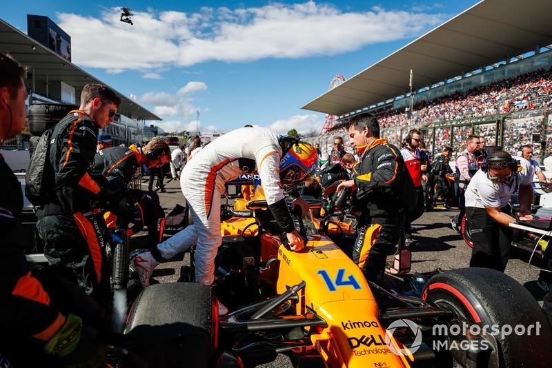 Fernando Alonso, McLaren,