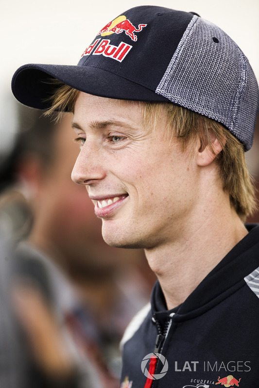 Брендон Хартлі, Scuderia Toro Rosso
