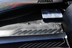 Parte trasera del suelo del Mercedes-AMG F1 W09