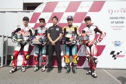 Tatsuki Suzuki, SIC58 Squadra Corse, Ayumu Sasaki, SIC Racing Team, Aoyama, Masaki, Kaito Toba, Honda Team Asia