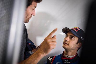 Тесты Дани Педросы и Тони Кайроли в Toro Rosso