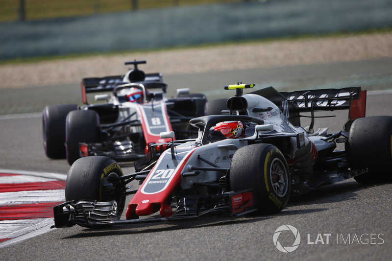 10e : Kevin Magnussen (Haas F1)